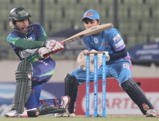 Mushfiqur Rahim's quick knock of 36 went in vain, Chittagong Kings v Sylhet Royals, BPL, Mirpur, February 18, 2013