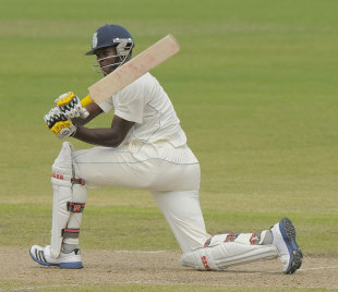 Kirk Edwards scored 120 for Barbados in their first innings against Guyana, Barbados v Guyana, Regional Four Day Competition, February 15-18