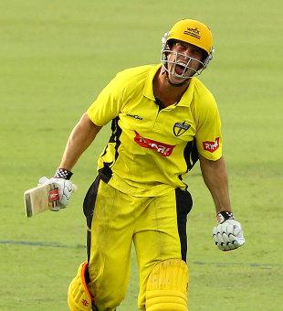Mitchell Marsh struck 104 off 96 but it was not enough for Western Australia, Western Australia v Tasmania, Ryobi Cup, Perth, February 19, 2013
