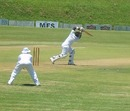 Kevin Kasuza scored 66, Mountaineers v Matabeleland Tuskers, Logan Cup, 1st day, Mutare, February 19, 2013