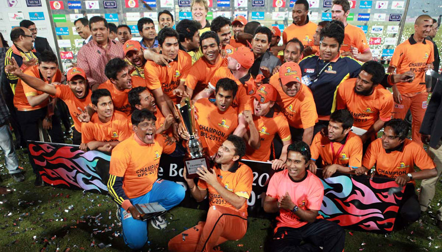 Dhaka Gladiators have won the BPL for the second time