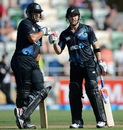 Brendon McCullum and Ross Taylor shared a blistering partnership