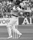 Rick McCosker hooks on his way to 51, England v Australia, 3rd Test, Headingley, 1st day, July 28, 1977