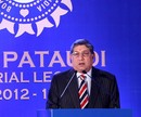 N Srinivasan speaking at MAK Pataudi Memorial Lecture, Chennai, February 20, 2013