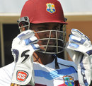 West Indies wicketkeeper Denesh Ramdin at a training session in St George's, Grenada