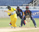Andre McCarthy top-scored for Jamaica with 45, Jamaica v Combined Campuses and Colleges, Regional Super50 2012-13, Kingston, February 21, 2013