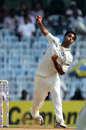 Bhuvneshwar Kumar was handed the new ball on debut
