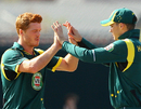 Alister McDermott's three wickets led to a batting collapse, Australia A v England Lions, 3rd unofficial ODI, Hobart, February 22, 2013
