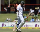 Graeme Smith walks off SuperSport Park