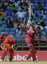 Darren Bravo hits out during his 71-ball century