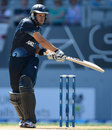 Ross Taylor swats James Anderson for four