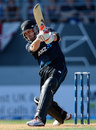 Brendon McCullum played a lone hand for New Zealand
