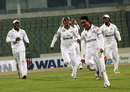 Central Zone's Mohammad Ashraful celebrates after taking a hat-trick against North Zone