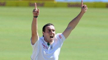 Kyle Abbott took seven wickets on debut