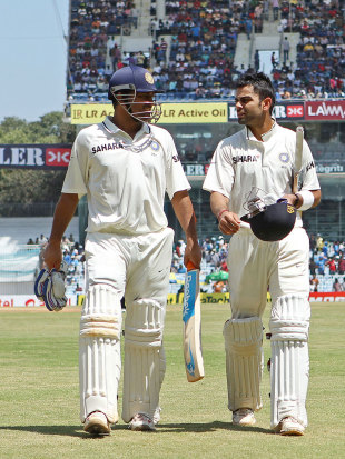 MS Dhoni and Virat Kohli tore the Australian attack to shreds in the first 45 minutes after lunch