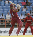 Kieron Pollard smashed 41 runs from just 20 balls, West Indies v Zimbabwe, 2nd ODI, Grenada, February 24, 2013