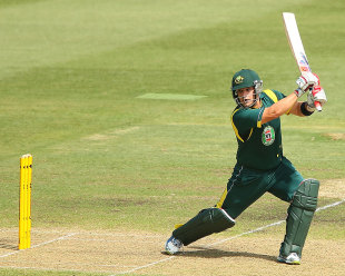 Aaron Finch scored 109 as Australia A won by 45 runs, Australia A v England Lions, 4th unofficial ODI, Sydney, February 25, 2013