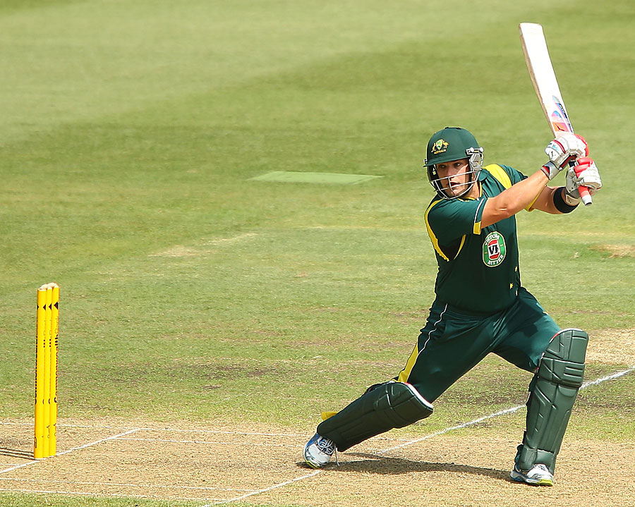 Aaron Finch scored 109 as Australia A won by 45 runs