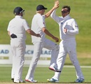 Graeme Swann picked a couple of wickets on the day