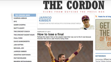 Cordon blog screenshot