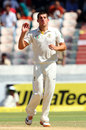 Moises Henriques bowled a disciplined spell before lunch