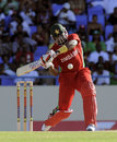 Hamilton Masakadza scored an unbeaten 53 for Zimbabwe, West Indies v Zimbabwe, 2nd T20I, Antigua, March 3, 2013