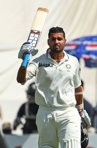 M Vijay was dismissed for 167, India v Australia, 2nd Test, Hyderabad, 3rd day, March 4, 2013