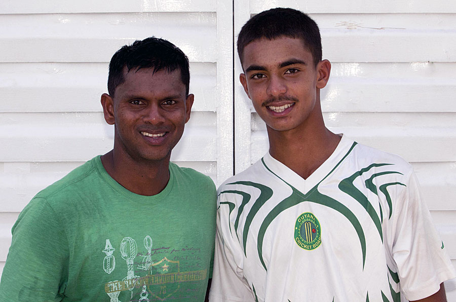 Father-Son Duo Scores Half Century In The Same Match