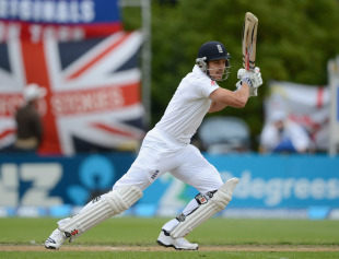 Nick Compton was soon clear of bagging a pair, New Zealand v England, 1st Test, Dunedin, 4th day, March 9, 2013