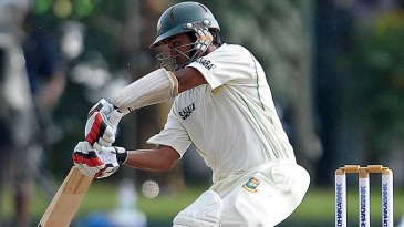 Mohammad Ashraful attempts a drive