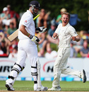 Neil Wagner removed Kevin Pietersen for the second time in the match