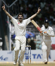 James Anderson trapped Virender Sehwag leg before for a duck, India v England, 3rd Test, Mumbai, 5th day, March 22, 2006