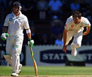 James Anderson took seven in the match, New Zealand v England, 2nd Test, 5th day, Wellington, March 17, 2008