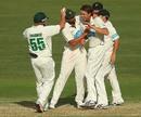 Luke Butterworth took four wickets in Tasmania's big win, Queensland v Tasmania, Sheffield Shield 2012-13, Brisbane, 4th day, March 10, 2013