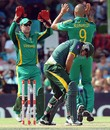 Nasir Jamshed reacts after being caught out, South Africa v Pakistan, 1st ODI, Bloemfontein, March 10, 2013
