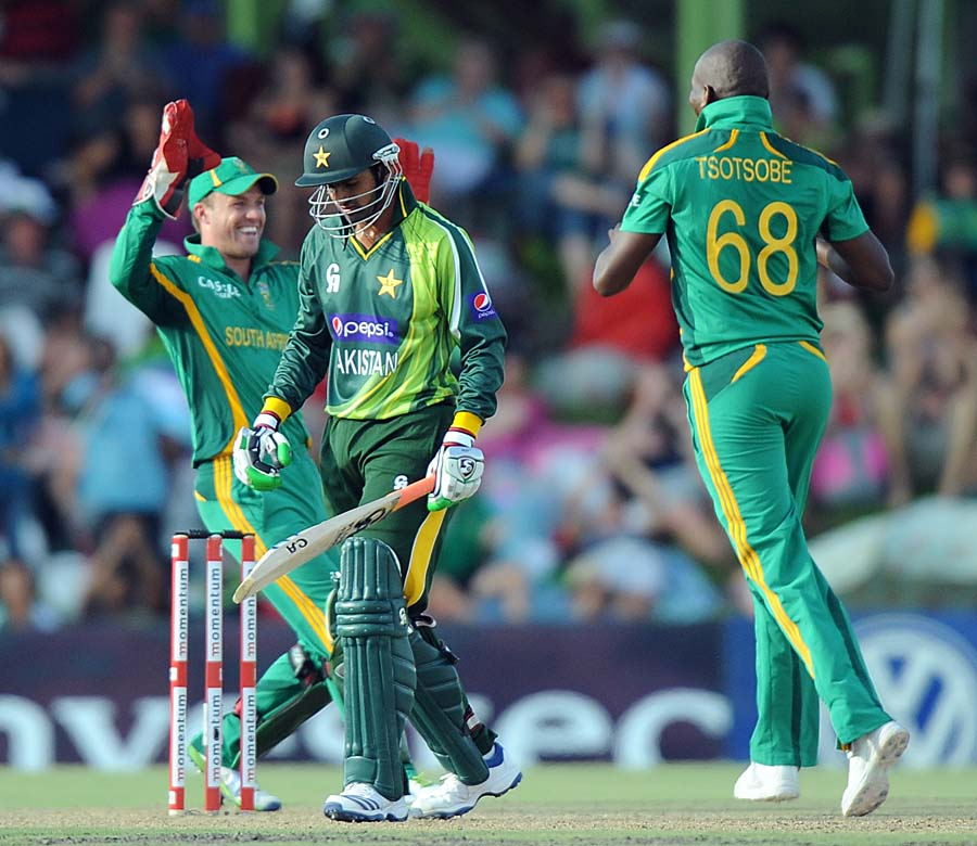 Shoaib Malik has scored 58 runs in the first three ODIs in South Africa