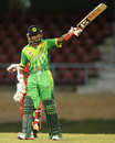 Devendra Bishoo was unbeaten on 52, Trinidad & Tobago v Guyana, Regional Super50, Port of Spain, March 11, 2013