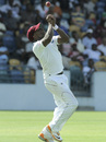 Tino Best drops Regis Chakabva, West Indies v Zimbabwe, 1st Test, Barbados, 1st day, March 12, 2013