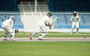Ed Joyce flicks into the leg side on his way to 155, UAE v Ireland, Intercontinental Cup, Sharjah, 2nd day, March, 13, 2012