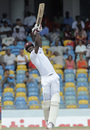 Darren Sammy lofts down the ground