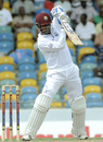 Denesh Ramdin punches off the back foot
