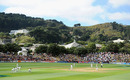 The scene over the Basin Reserve on the opening day, New Zealand v England, 2nd Test, Wellington, 1st day, March 14, 2013