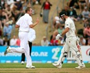 Stuart Broad dismissed Hamish Rutherford for 23