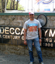 Former Maharashtra batsman Shantanu Sugwekar outside the Deccan Gymkhana club, Pune, February 17, 2013