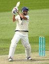 Rob Quiney cuts during his 60, Tasmania v Victoria, Sheffield Shield, Hobart, 2nd day, March 15, 2013