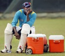 Angelo Mathews muses during practice