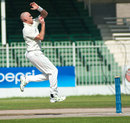 Trent Johnston took four wickets to dismiss UAE for 360, United Arab Emirates v Ireland, ICC Intercontinental Cup, Sharjah, 4th day, March 15, 2013
