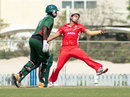 Junaid Siddiqui took three wickets for 10 runs off his four overs, Canada v Kenya, 1st T20I, Dubai, March 15, 2013