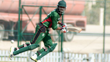 Rakep Patel top-scored for Kenya with an unbeaten 48