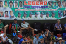 The crowd pays tribute to Bob Woolmer, South Africa v Pakistan, 2nd ODI, Centurion, March 15, 2013
